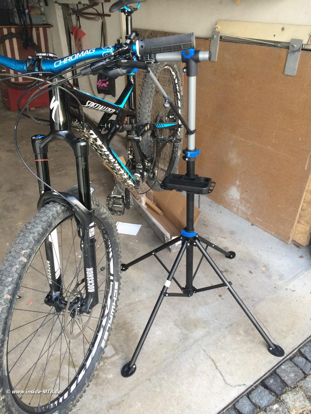 powerfix montagest nder f r fahrr der inside mountainbike magazin. Black Bedroom Furniture Sets. Home Design Ideas